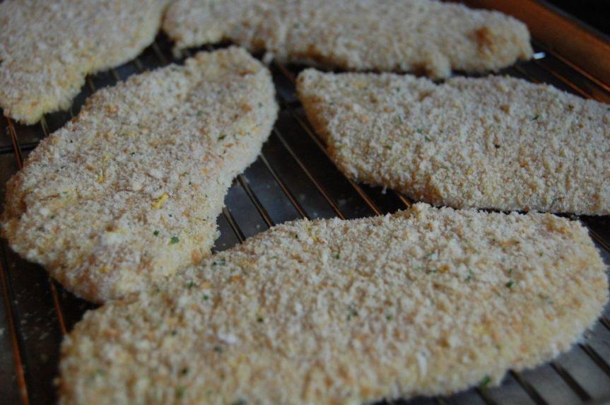 Chicken Modena breaded cutlets