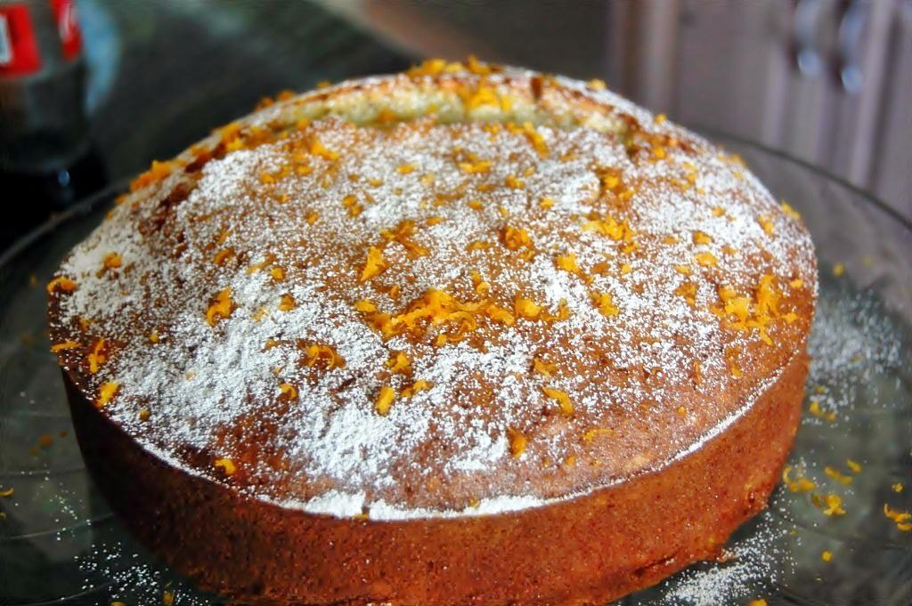 Olive Oil – Orange Cake – Cucina Magia