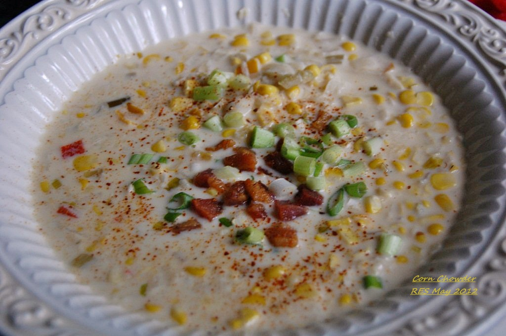 ... corn and cod chowder healthy corn chowder tarragon corn chowder recipe