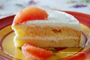 Brown Derby Grapefruit Cake
