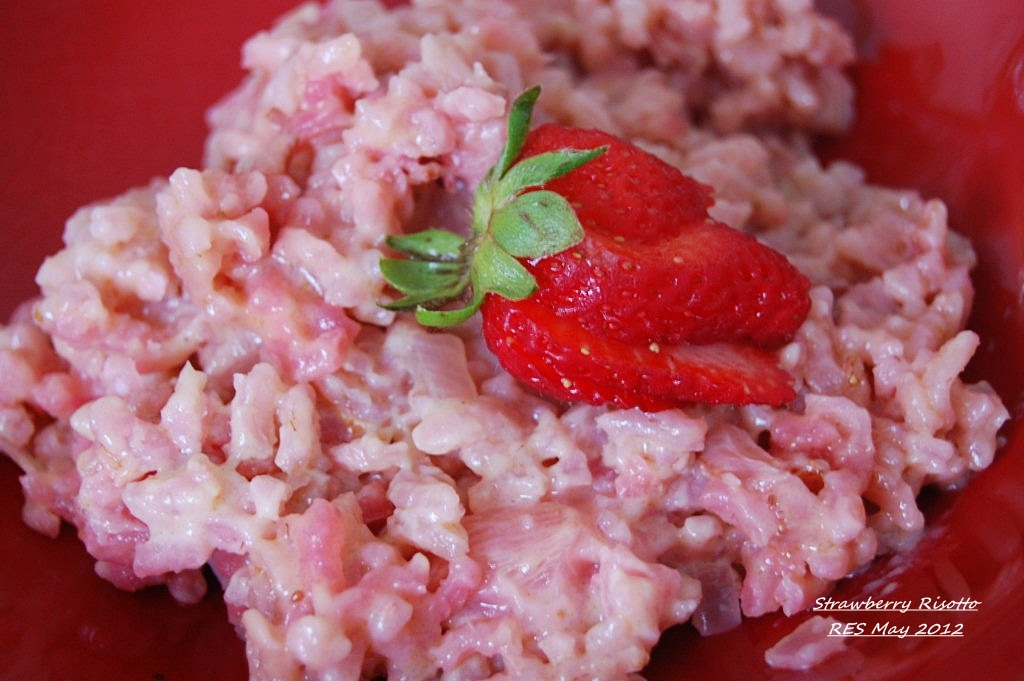 Strawberry Risotto & Grilled Rao's-Style Lemon Chicken | Cucina ...