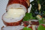 Stuffed Chicken Breasts Sliced
