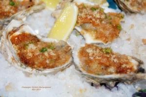 Champagne Oysters Bourguignonne  VI