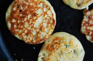 Buttermilk  & Bacon Hoecakes II