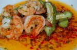 Shrimp and Ham with Pepper jelly Appetizer