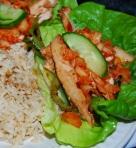 Korean Chicken Lettuce Wraps III