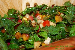 Swiss Chard and Baby Kale Salad IV