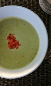 Broccoli Cauliflower Cheddar Soup II