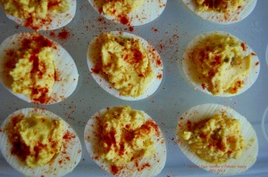 Deviled Eggs Durkee's Famouse Sauce