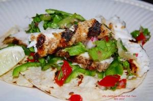 Grilled Mahi-mahi tacos II
