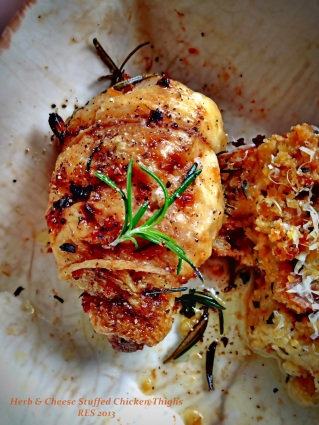 Herb Stuffed Chicken Thighs VI