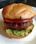 Chorizo Turkey Burger I