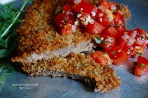 Parmesan-Panko Steaks