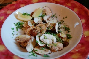 Linguine with Mushrooms and Thyme-Nigella 2