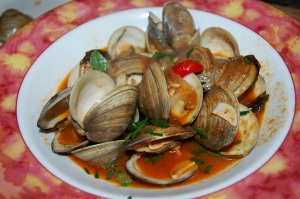 Clams in Spicy Brodetto 2