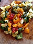 Roasted veggies for Ravioli 2