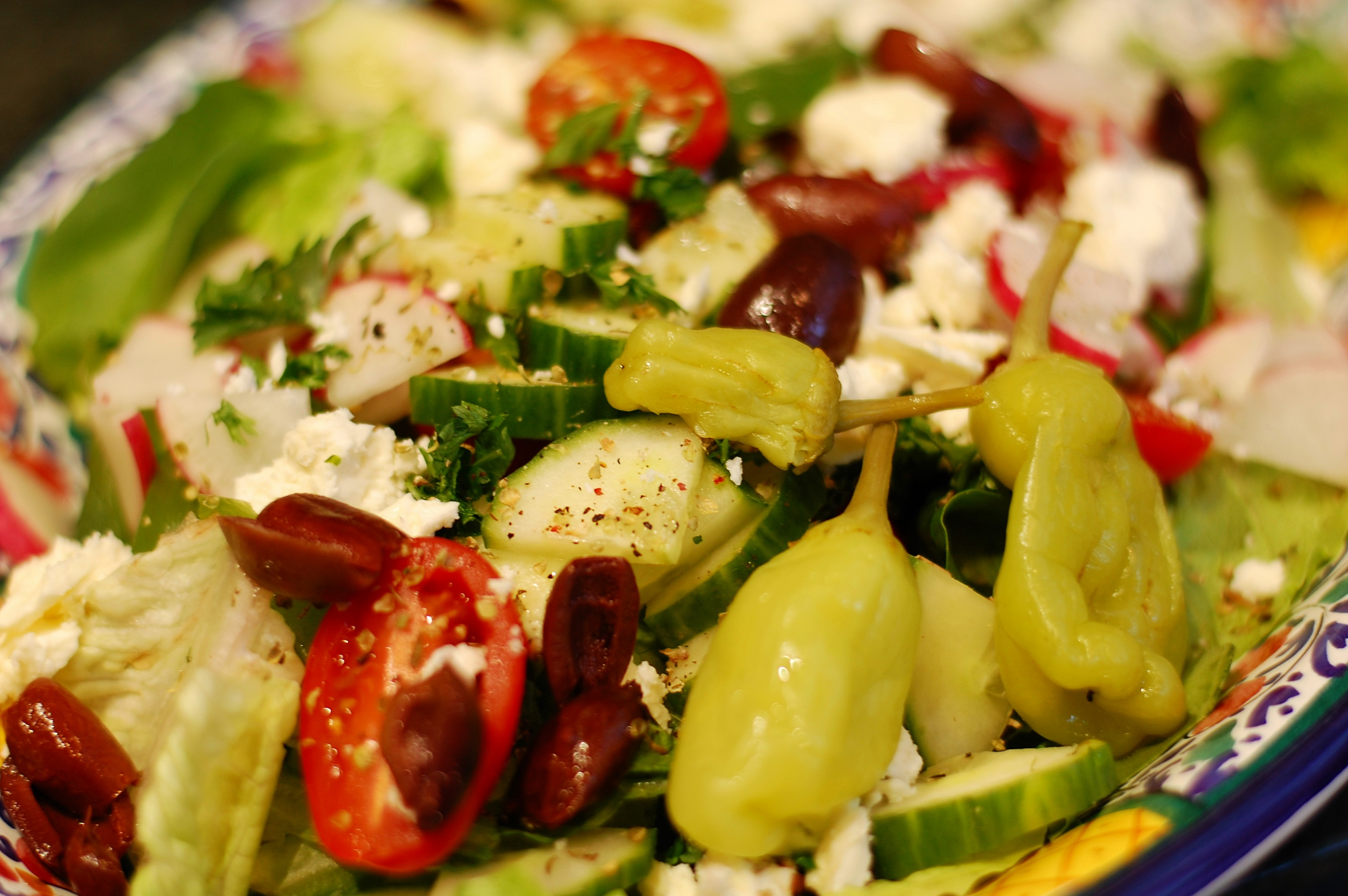 Всякие салатики с фото