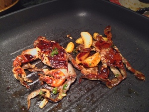 Grilled Halo Soft Shell Crabs 4