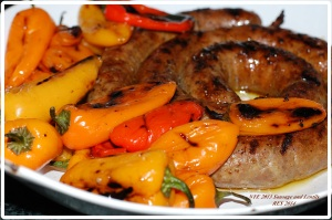 NYE 2013 Lentils and Sausage 4