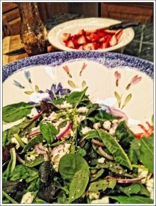 Strawberry Balsamic Salad 2