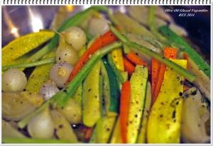 Olive Oil glazed Vegetables 2