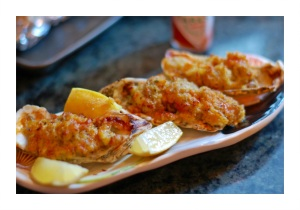 Besh Garlicky Baked Oysters 3