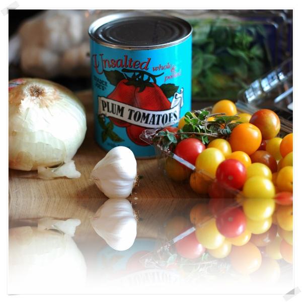 Marcella Hazan Sauce ingredients 2