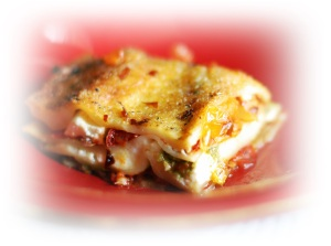 Roasted Tpmato and Pesto Lasagna Blog