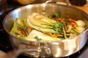 Bok Choy and Thai Shrimp (3)
