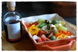Greek Olives and Cucumber Salad 2
