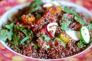 Red Quinoa Salad 3