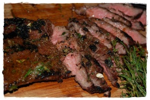 Flat Iron Steak with Board Sauce - Copy (2)