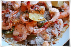 Salt Baked Peel and Eat Shrimp 2