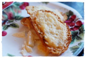 Anchovy Butter Crostini
