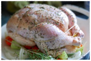 Besh Herb Roasted Chicken