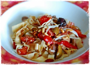 Besh Pasta Chicken and Tomatoes2