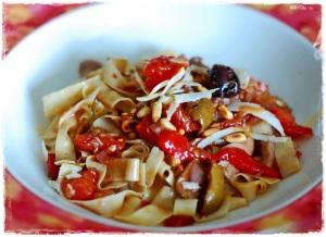 Besh Pasta Chicken and Tomatoes2