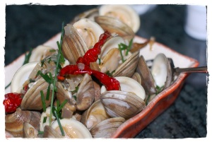 Malasian Style Chili Clams