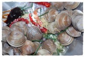 Malaysian style clams 2
