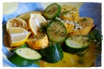 Marinated and Grilled Squash