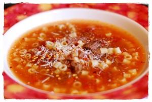 Italian-Style Beef Soup