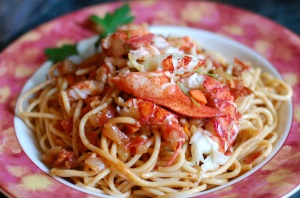 Lobster Bolognese for 4