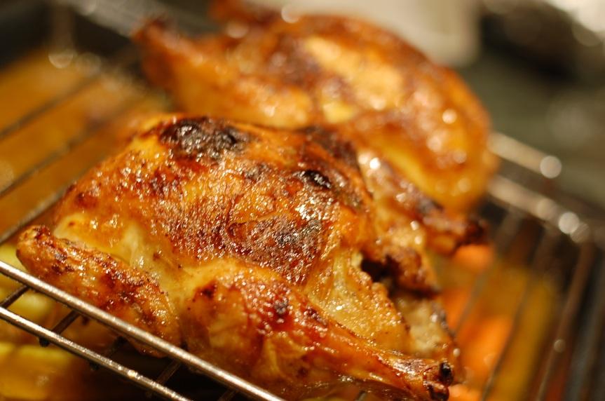 Maple Glazed Hens (2)