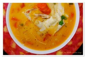 Golden Chicken Noodle Soup