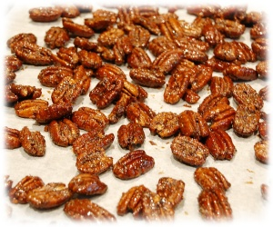 Peppered Honey Pecans