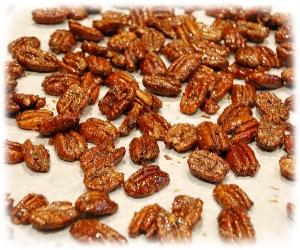 Peppered Honey Pecans