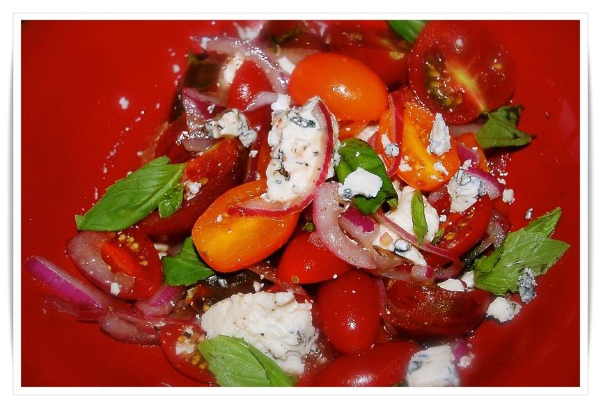 Tomato Roquefort Salad