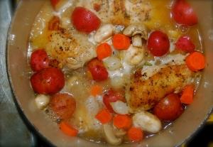 Chicken Jardinière 2