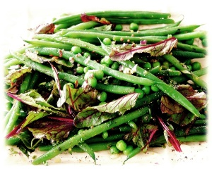 Green Beans withMustard Seeds and Tarragon