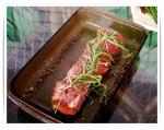 Pork with Honey Tarragon glaze